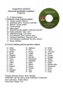 CD turinys